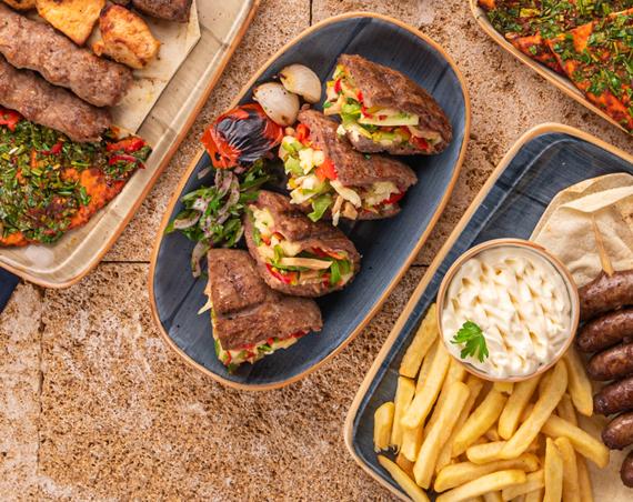 Al Mashawi Al Halabya (Aleppo Grills), UAE about